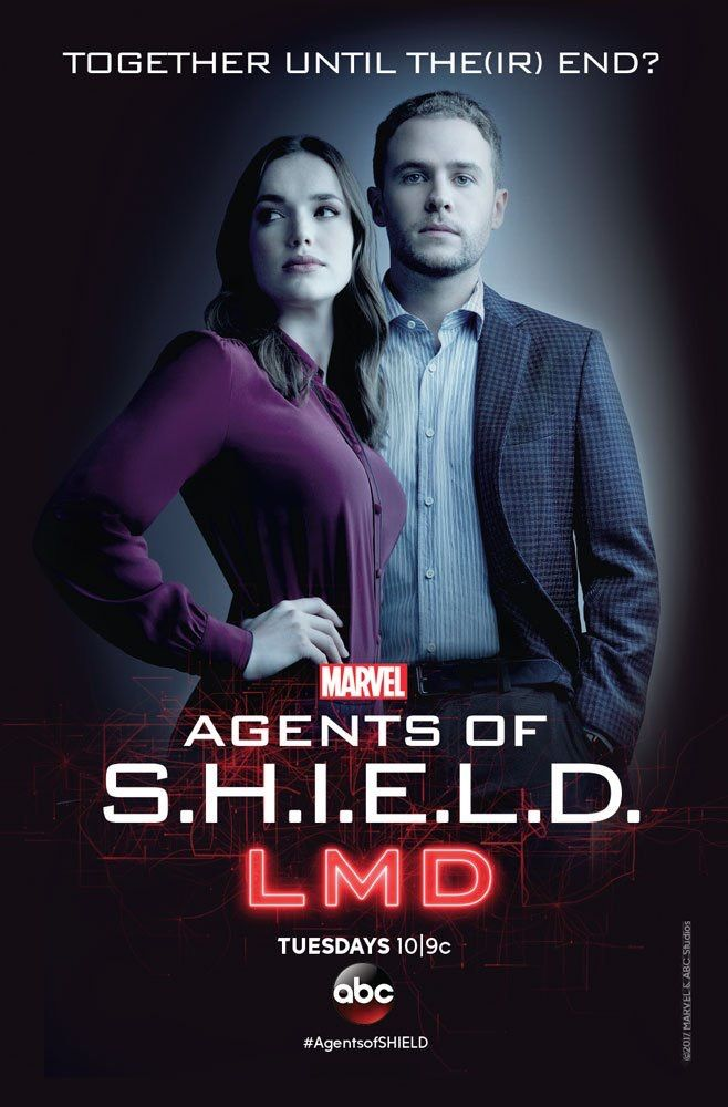 5 of 5 - Agents of S.H.I.E.L.D. LMD Poster