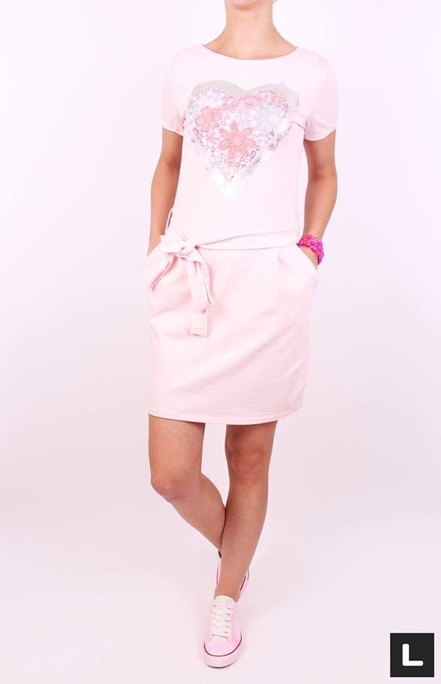 Šaty na leto ružové