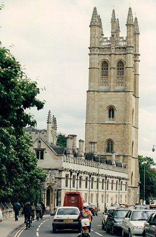 Magdalen college, Oxford University,  UK  Оксфорд,  Англия.
