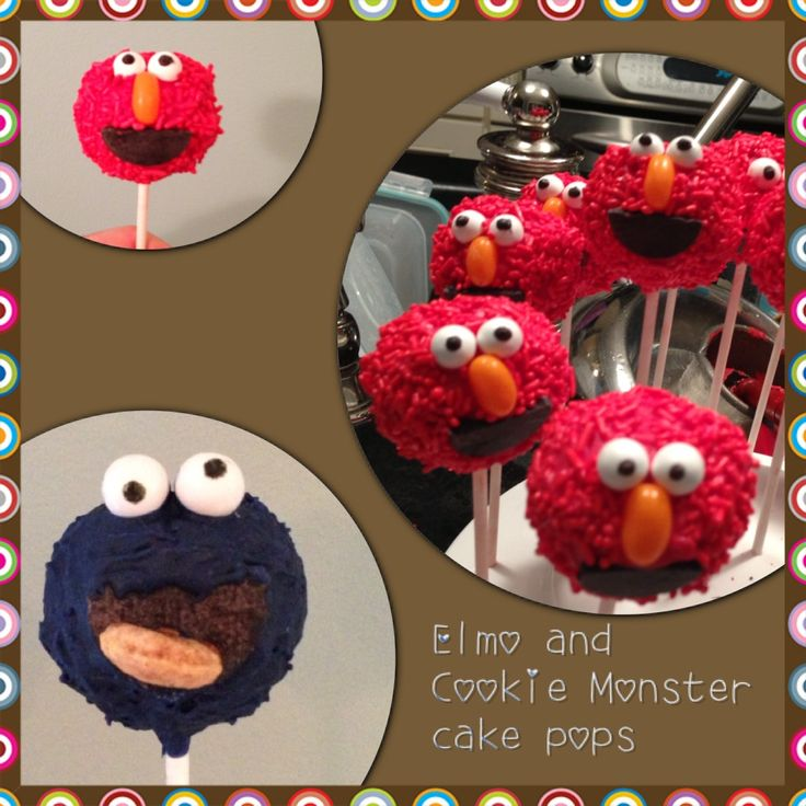 25 Best Images About Monster Cake Pops On Pinterest