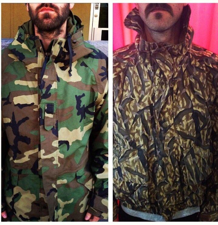 Couple of camo items. Columbia Marsh camo jacket still available!