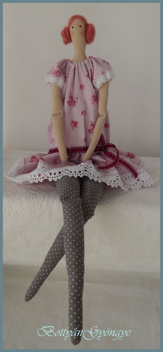 Kisasszony - Tilda baba - Miss - Tilda doll