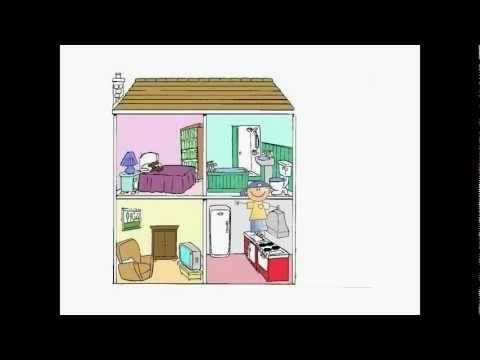 La maison – vocabulaire | ah oui?
