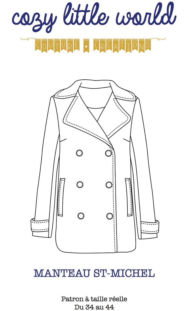 Le patron de mon manteau idéal - Manteau St-Michel, Cozy little world
