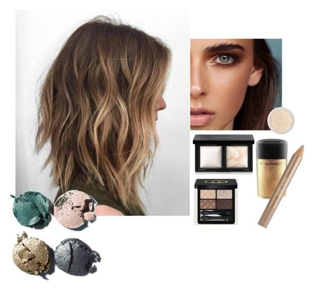 """Sin título #12"" by consuelo-cardenas on Polyvore featuring MAC Cosmetics, Bare Escentuals, Gucci, Estée Lauder, W3LL People y Chanel"