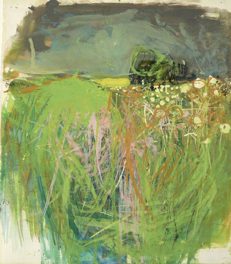 Hedgerow with Grasses and Flowers by Joan Kathleen Harding Eardley National Galleries of Scotland Date painted: c.1962–1963 Gouache & oil on paper, 37.5 x 33 cm