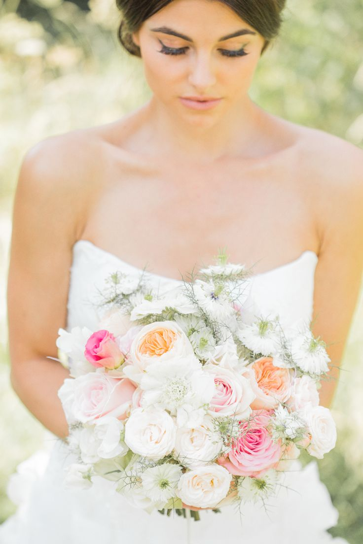 Fresh Flower Bridal Bouquets Online : Images about wedding flowers on paper