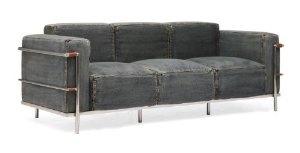 ZUO ERA Lasso Sofa, Blue Denim