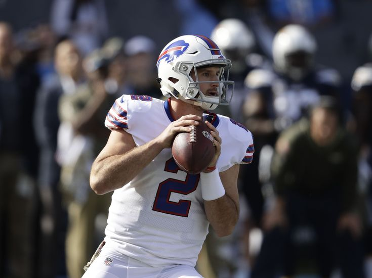 In his first career start, Buffalo Bills rookie quarterback Nathan Peterman struggled mightily against the Los Angeles Chargers.