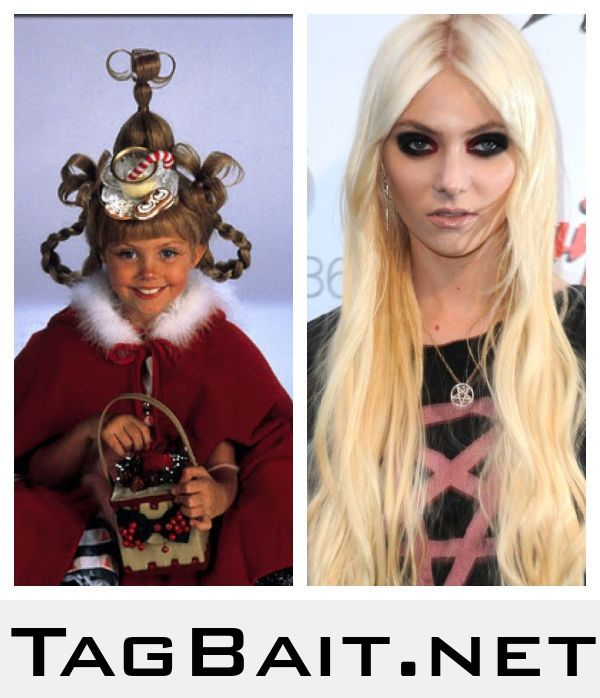 Do you guys remember Cindy Lou Who? Well this is her now...