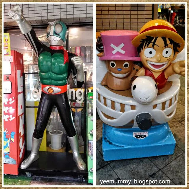 Yeemummy依玛密: Osaka Free n Easy 大阪,日本桥~动漫街, 千日前 & 道顿堀