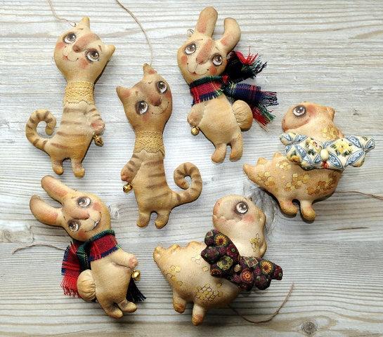 кофейные зайки игрушки