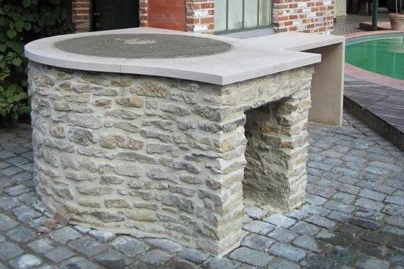 Pizza Oven Base For An Italian Wood Fired Fornino