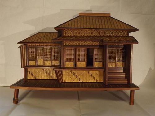 Model of japanese house