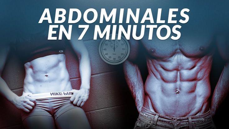 Abdominales 7 minutos, consigue tus abdominales perfectos
