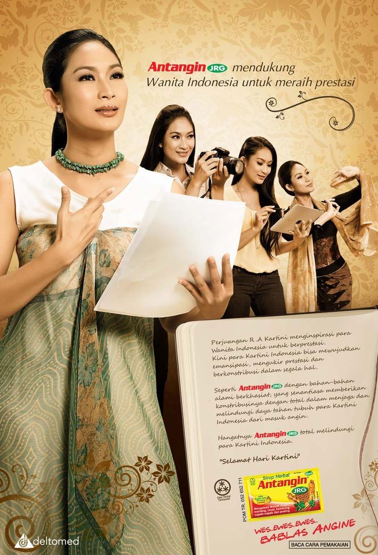 Print Ad - Antangin JRG 2012  Happy Salma versi Kartini