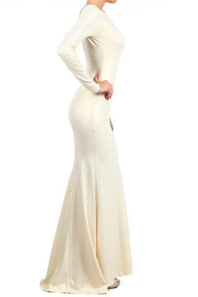 Get this elegant mermaid dress and more  www.TrendyColly.ca