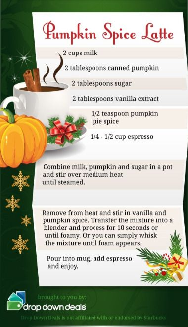 "thecakebar: "" DIY Starbucks Holiday Drinks! {Click pictures for extra large view} • Peppermint Mocha • Gingerbread Latte • Eggnog Latte • Chai Tea Latte • Caramel Brulee Latte • Pumpkin Spice..."