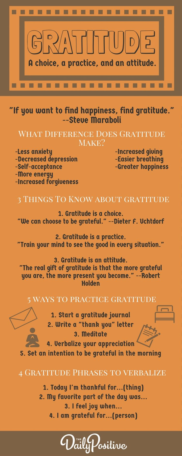 Gratitude | Tips | Attitude | Practice | Happy | Happiness | How to Practice Gratitude
