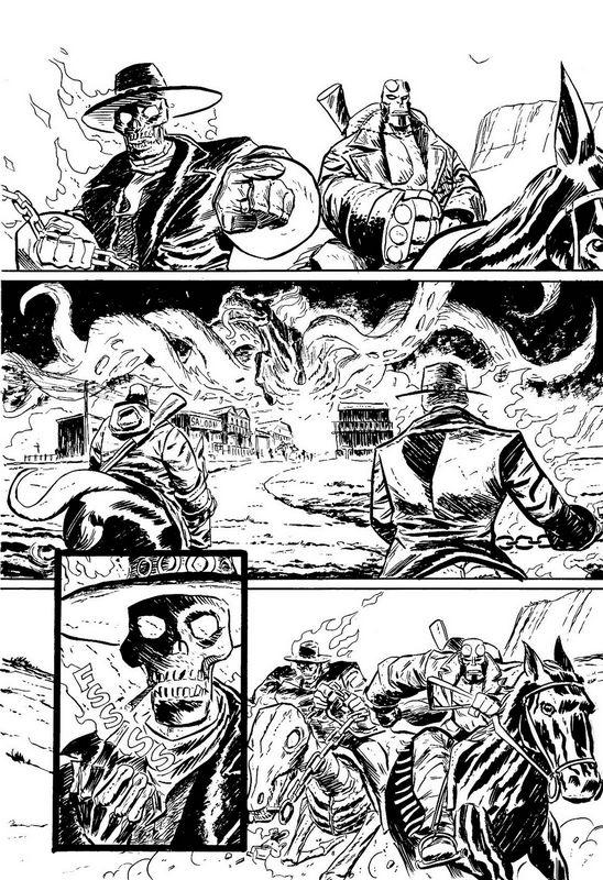Comic Book Artist: Dan McDaid | Abduzeedo Design Inspiration
