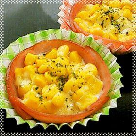 ハムカップ★マヨコーン・チーズ焼き