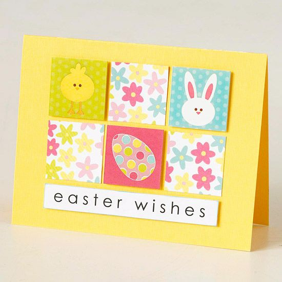 90 best images about Cards inspiration – Easy Easter Cards to Make