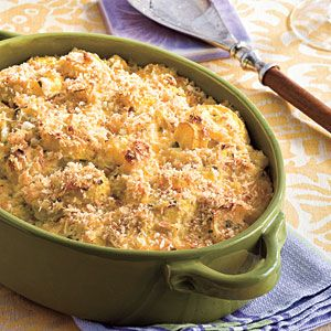 60 Spectacular Thanksgiving Sides | Two-Cheese Squash Casserole  | SouthernLiving.com: Side Dishes, Casserole Recipe, Living Recipe, Squash Casserole, Casseroles, Thanksgiving Recipe, Two Cheese Squash, Squashes, Thanksgiving Sides