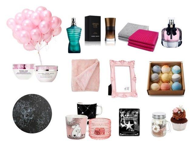 """ö"" by iina-lavikainen on Polyvore featuring beauty, Giorgio Armani, Jean-Paul Gaultier, GlamGlow, Yves Saint Laurent, Marimekko, iittala, Nordstrom Rack and Lancôme"