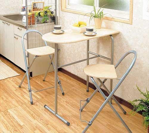 высокий стол для маленькой кухни