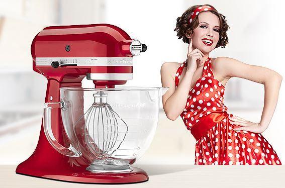 Jesienna PROMOCJA w naszym sklepie . Mikser Artisan KARMELEK w OKAZYJNEJ CENIE http://madeinusa.com.pl/mikser-kitchenaid-artisan-ze-szklana-dzieza-candy-apple-red.html