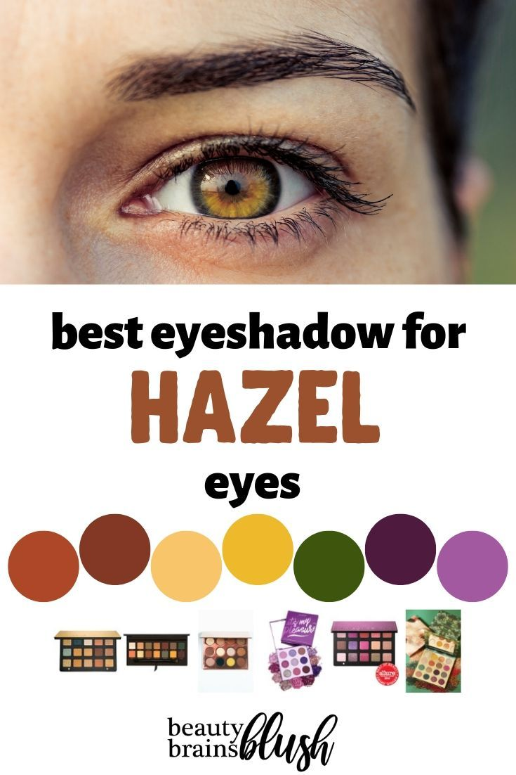 best eyeshadow for every eye color | •self care | best