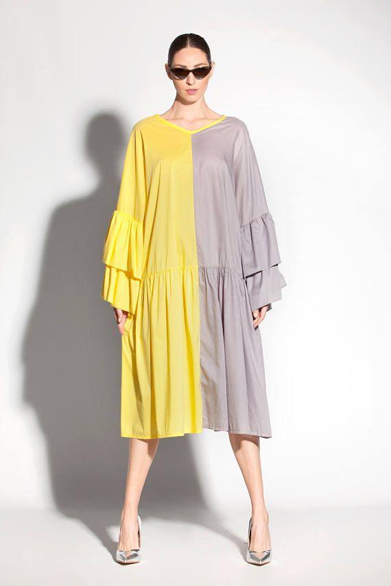 414458e8211e Yellow maxi dress