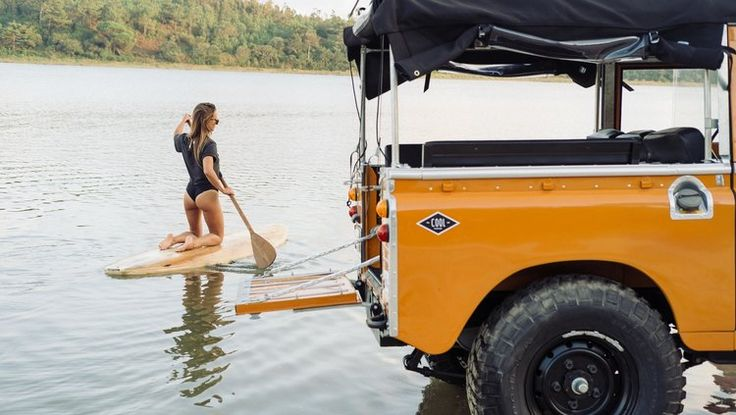 Coolnvintage - Land Rover Series 2A Paddle — Cool