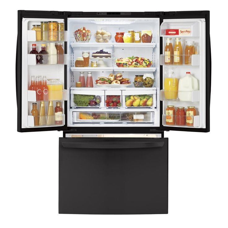 Black French Door Refrigerator Review Superior