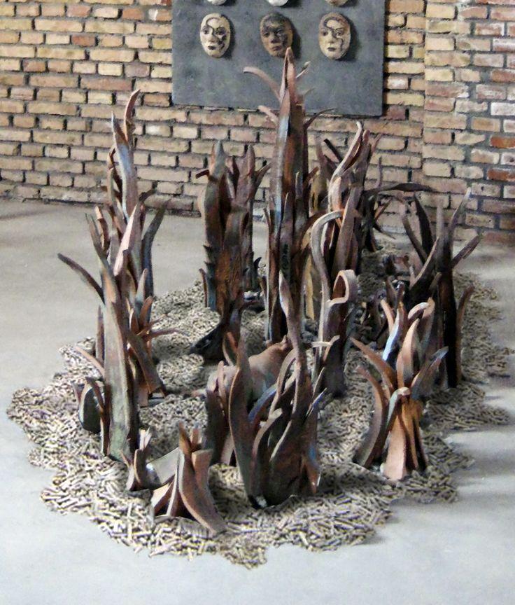 Pastos de mi tierra. Museo Argentino en Fuping. China. Cristina del Castillo