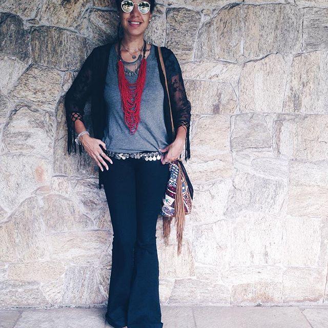 Cigana completa agora💃🎪  .  .  .  #gypsy #boho #bohostyle #bohochic #hippie #ootd #fashion #fashiondiaries #lookdodia #kimono #hippiechic #hippiestyle #fashionista #fashionblogger