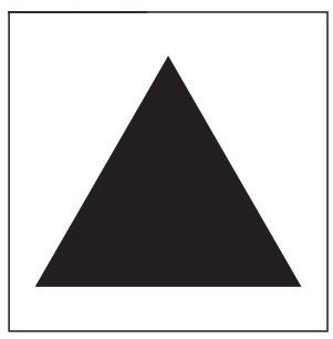 PHOTO LUMINESCENT TRIANGLE SIGN HEAVY DUTY PHOTOLUMINESCENT TRIANGLE SYMBOL EMERGENCY SIGN HEAVY DUTY (PHOTOLUMINESCENT ALUMINUM ENTRANCE MARKING SIGN EGRESS DIRECTION SIGNS 1.5 X 1.5 )
