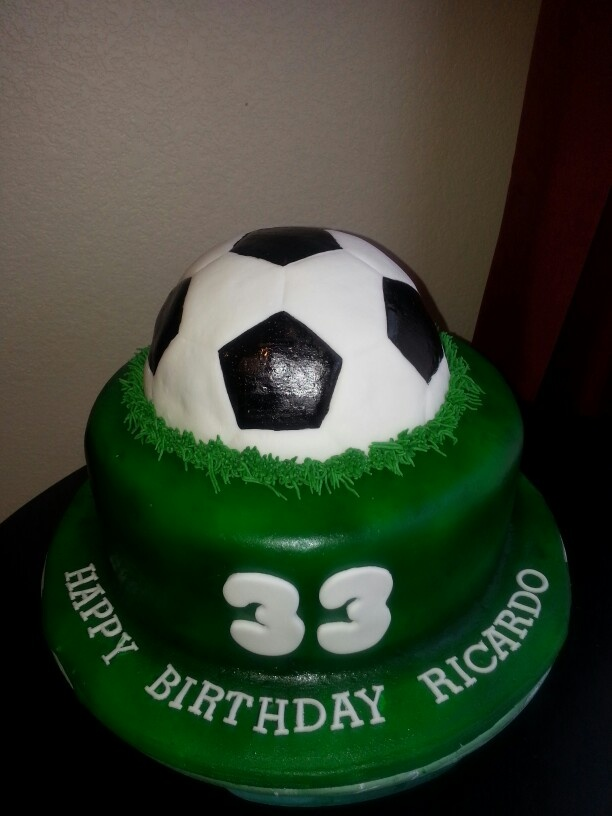 Soccer Cake Decorating Kit