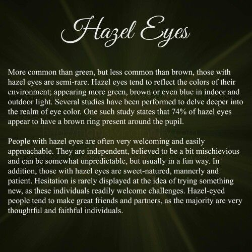 mine are hazel my love pinterest eye