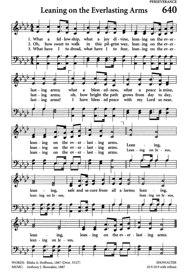 Christian sheet music singles