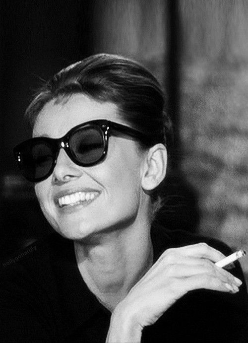 Audrey Hepburn in Breakfast at Tiffany's (Blake Edwards, 1961) - she is