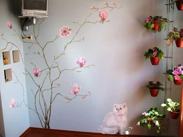 Best 25+ Tree Wall Painting Ideas On Pinterest