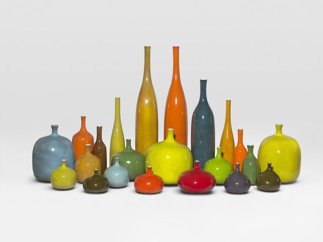Ceramists JACQUES AND DANI RUELLAND (French:  1926-2008 and 1933-2010) -  'Set of 22 pieces' 1960 @ Thomas Fritsch-ARTRIUM