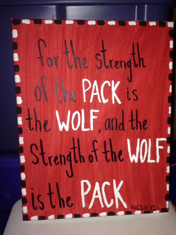 ***FOR SALE AND AVAILABLE NOW*** A custom made canvas perfect for any NC State student, alumni, fan or future Wolfpacker. Go Pack! If