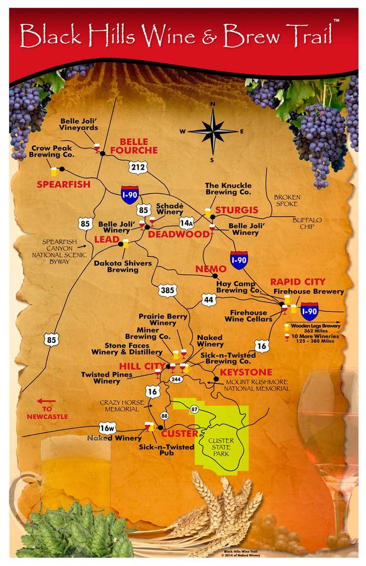 Pin on Winery in South Dakota