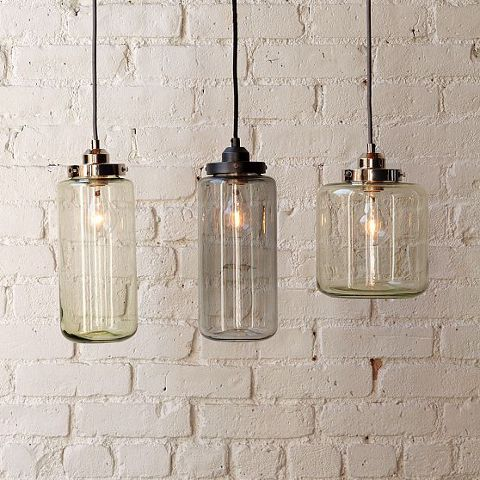 New pendant lights from West Elm - similar to Niche Modern's Pod Lights, but only $99!