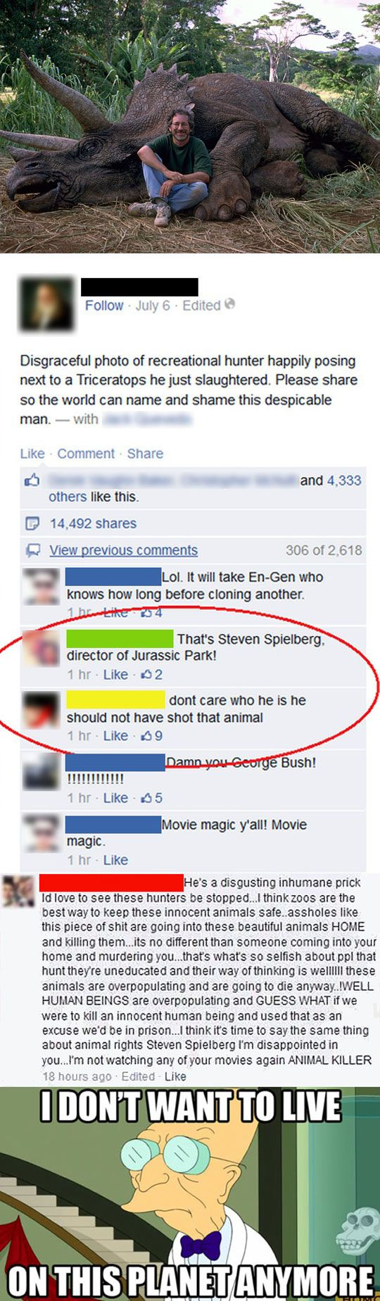 SOME PEOPLE ARE JUST STUPID!