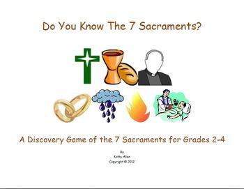 7 Sacraments Symbol Game