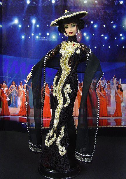 Nimomo:  OOAK Barbie, Miss Vietnam 2009