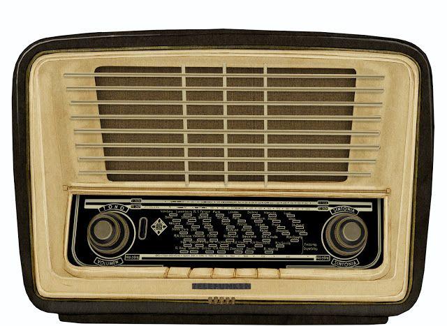 radio,antigua, telefunken, dibujo